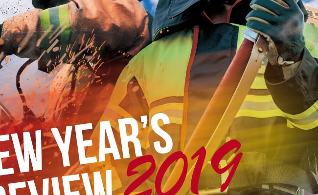 福岡市消防団連合会-福岡市消防出初式2019